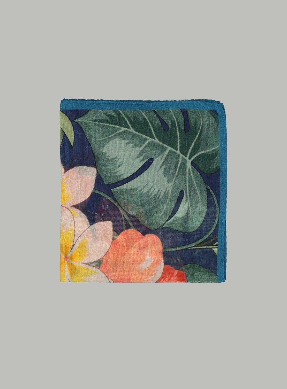 Hibiscus Pocket Square