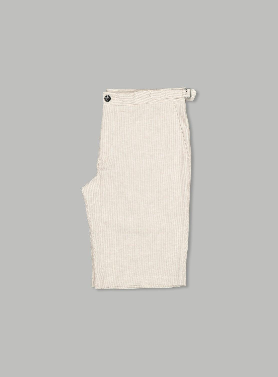 Hogan Taupe Side Adjuster Shorts