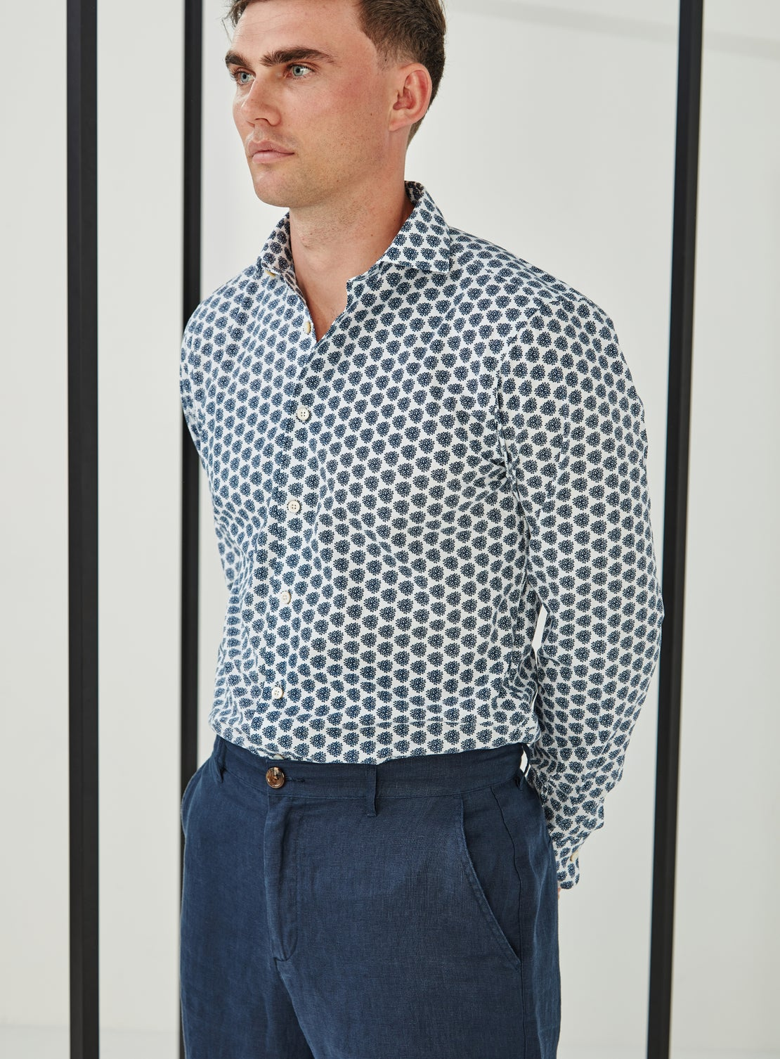 Hydrangea Shirt