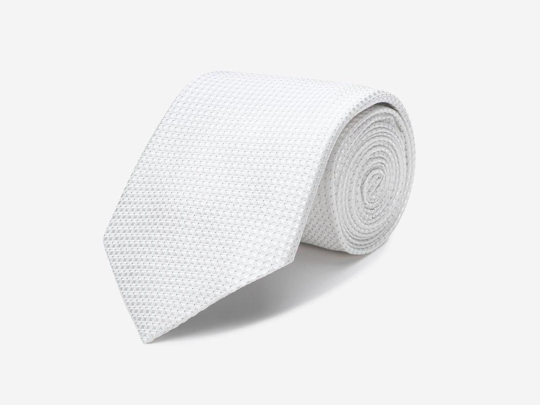 Ivory Diamond Tie
