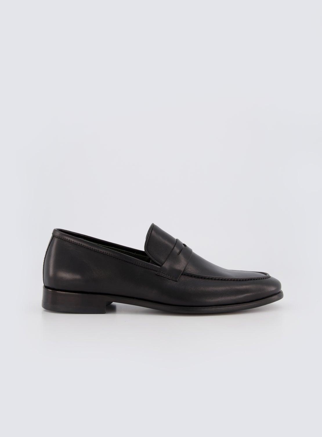 Jarvis Black Loafer