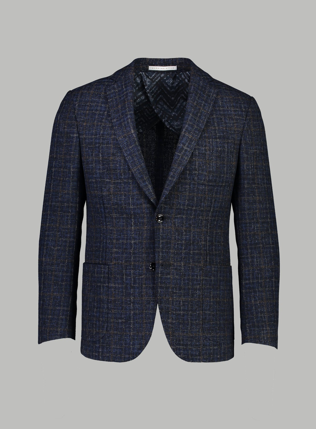 Jean Basket Weave with Overcheck