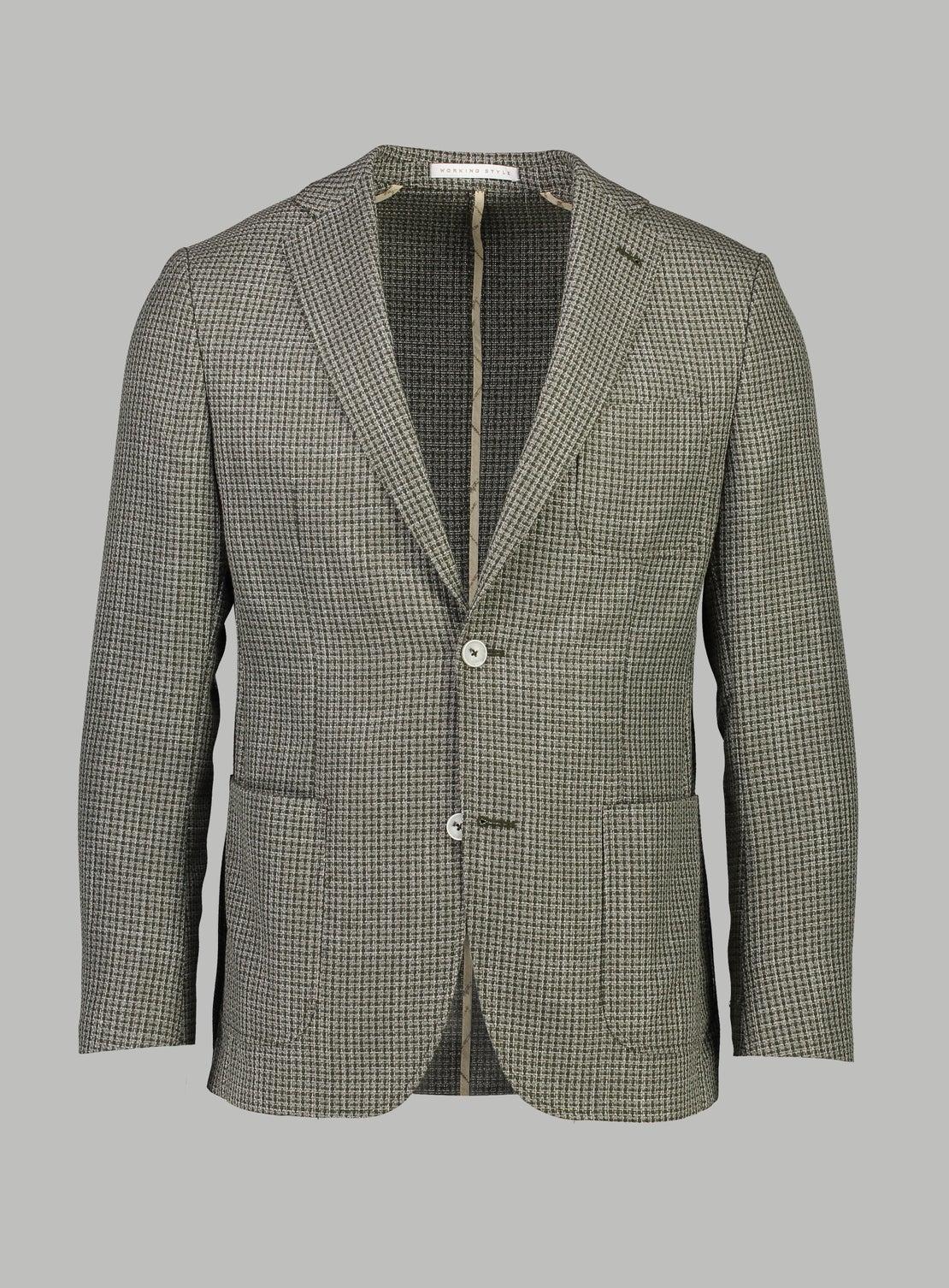 Josef Khaki Textured Jacket