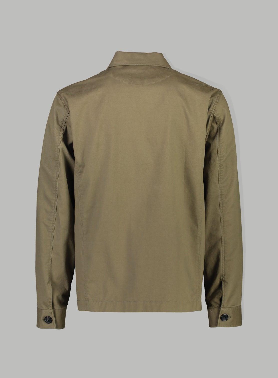 Khaki Green Utility Jacket