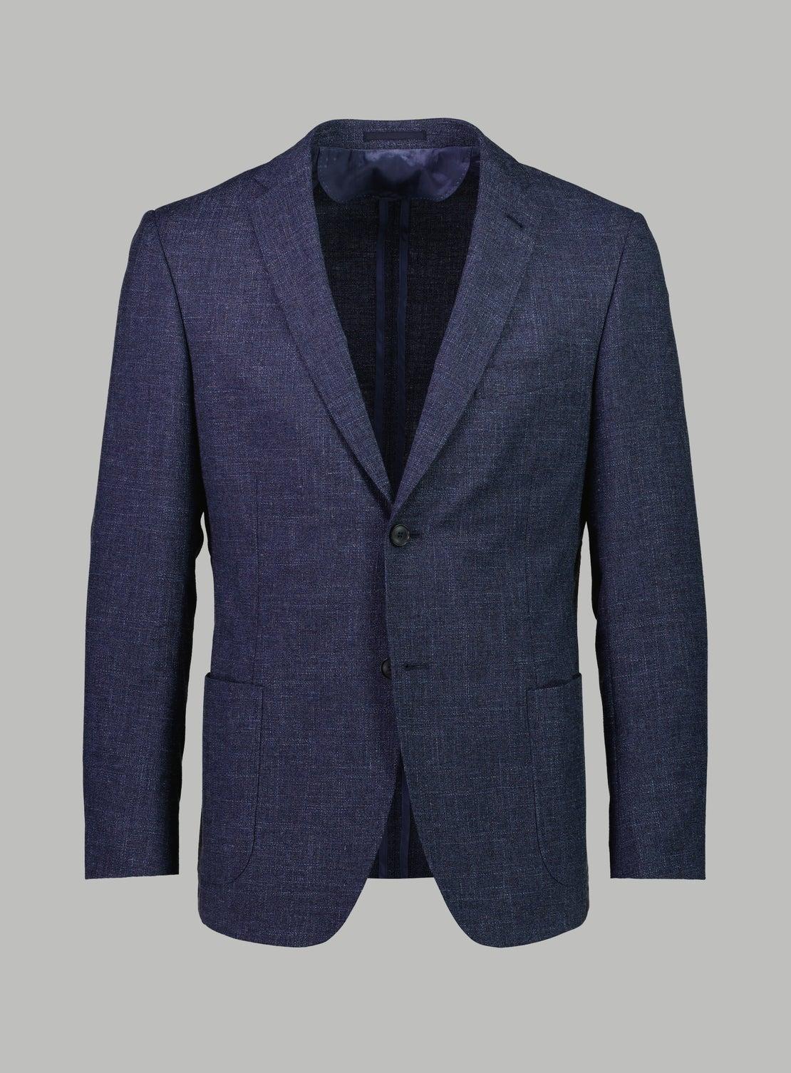 Lagos Denim Textured Jacket