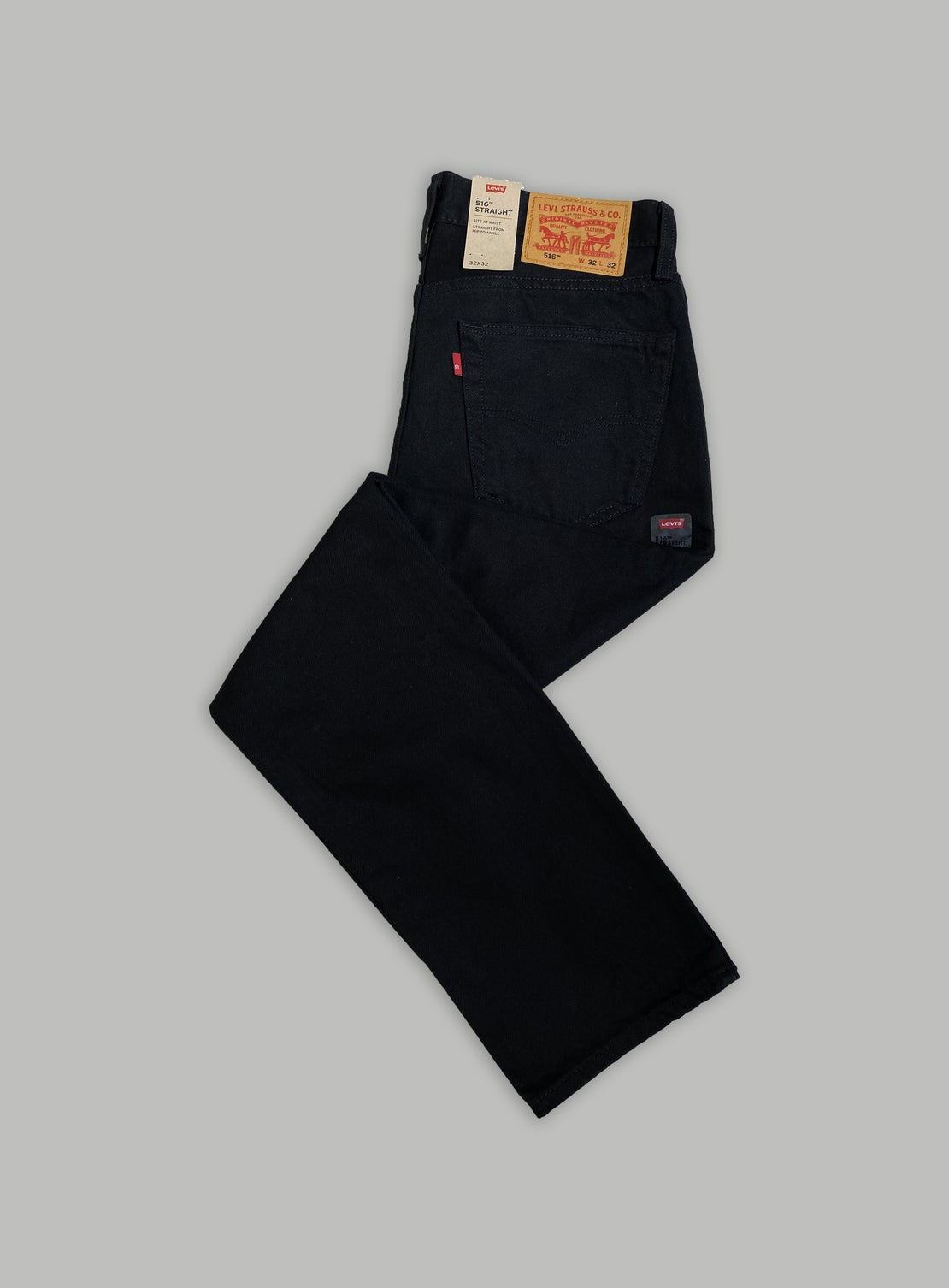 Levi's 516 Slim Straight - Black Rinse