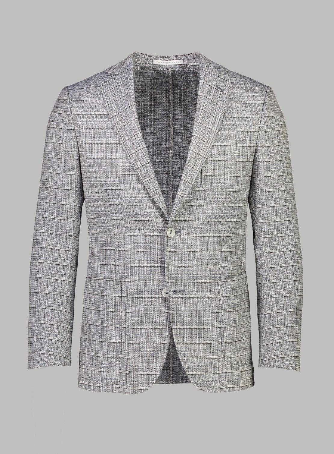 Light Grey Check