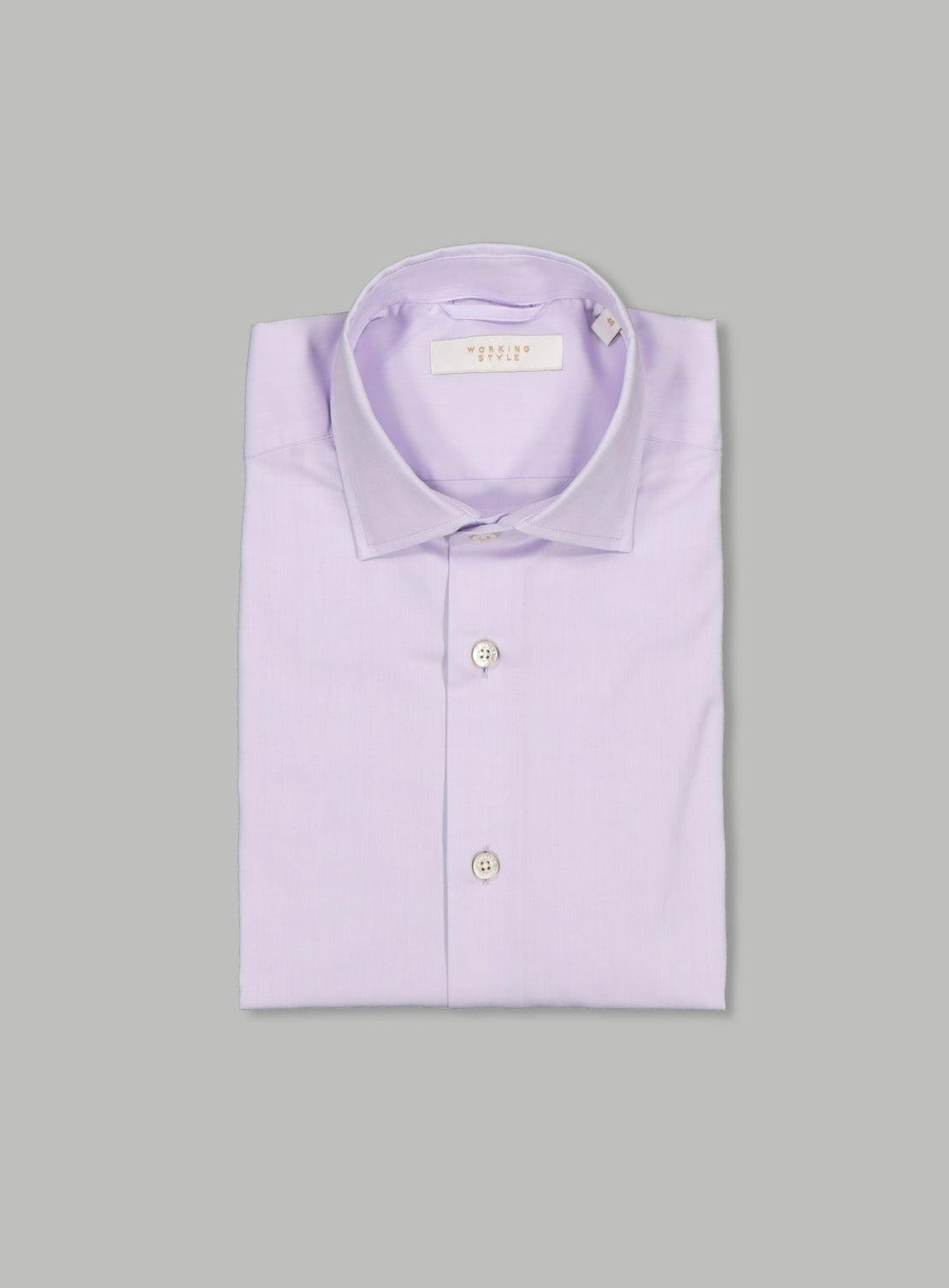 Lilac Twill Shirt