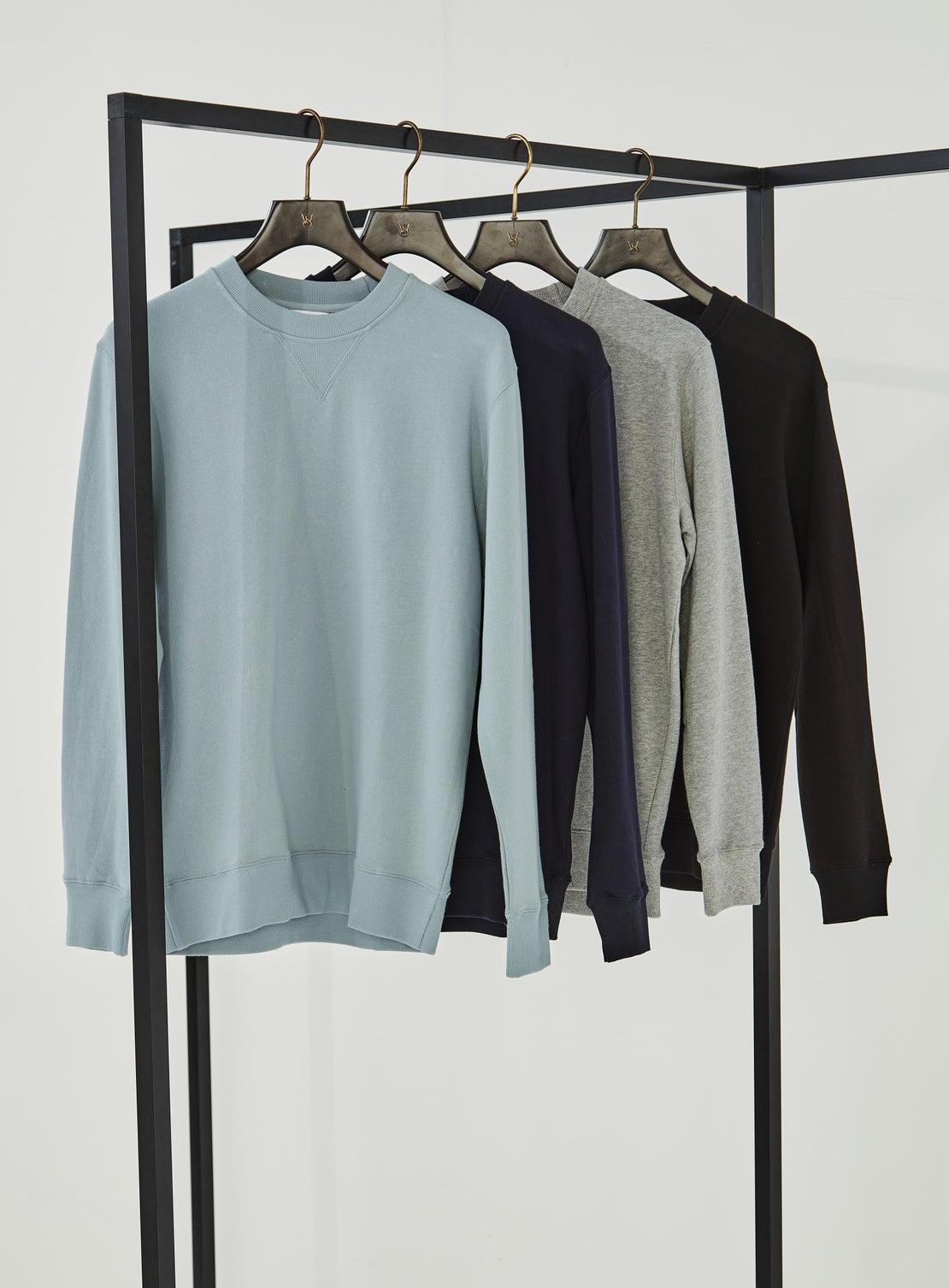 Liston Light Blue French Terry Sweatshirt