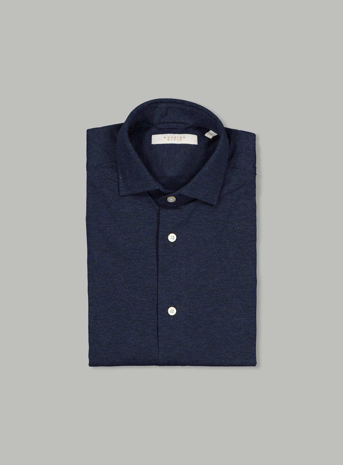 Lucky Navy Knit Shirt