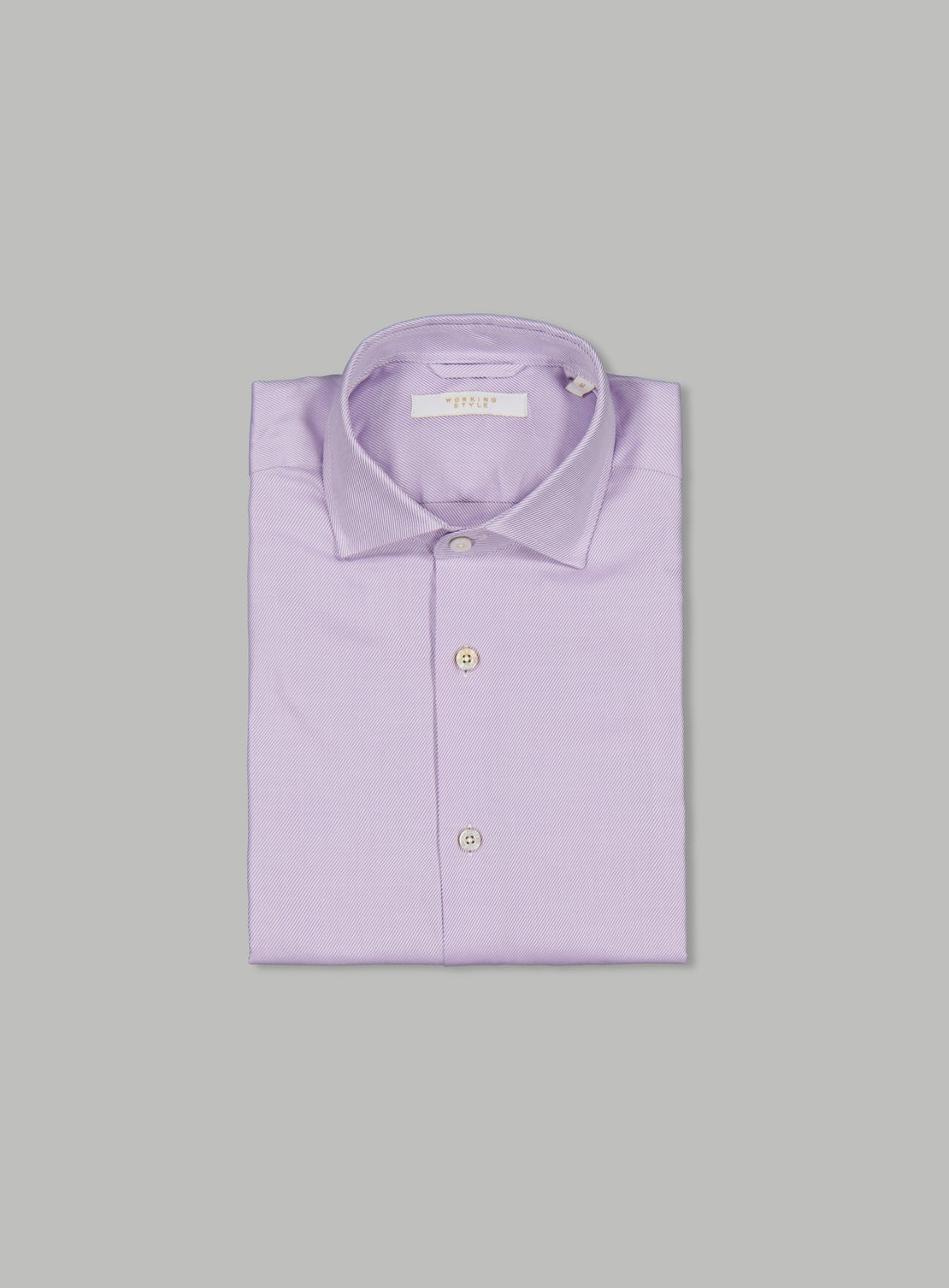 Luxe Lilac Raised Twill Shirt