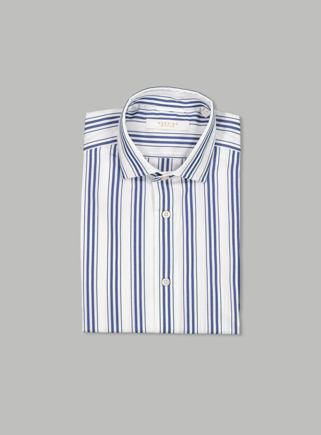 Marcel Blue Stripe Shirt