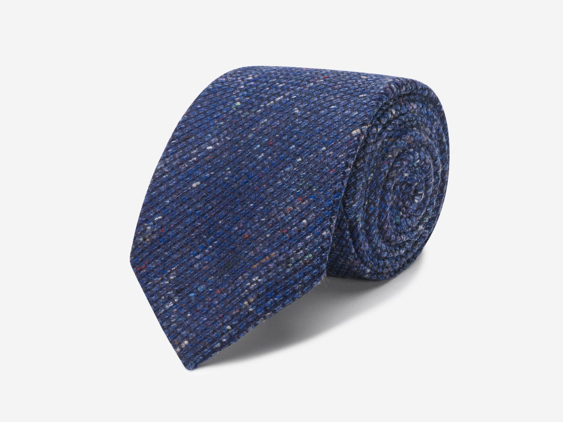 Mid Blue Donegal Tie