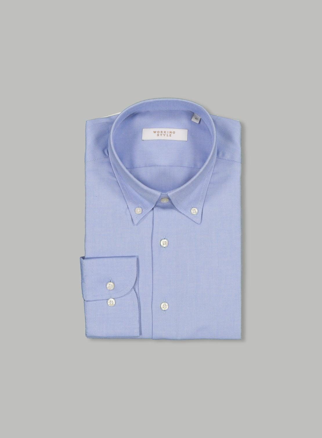 Mid Blue Essential Shirt