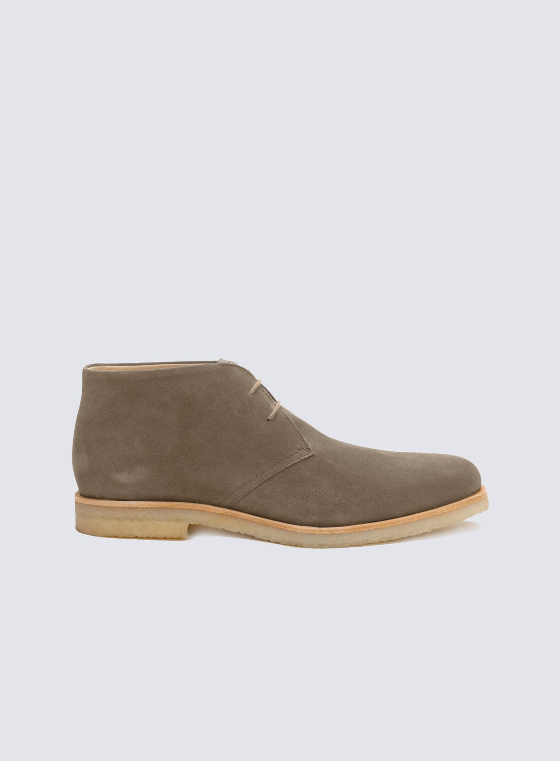 Morrissey Mushroom Suede Desert Boot