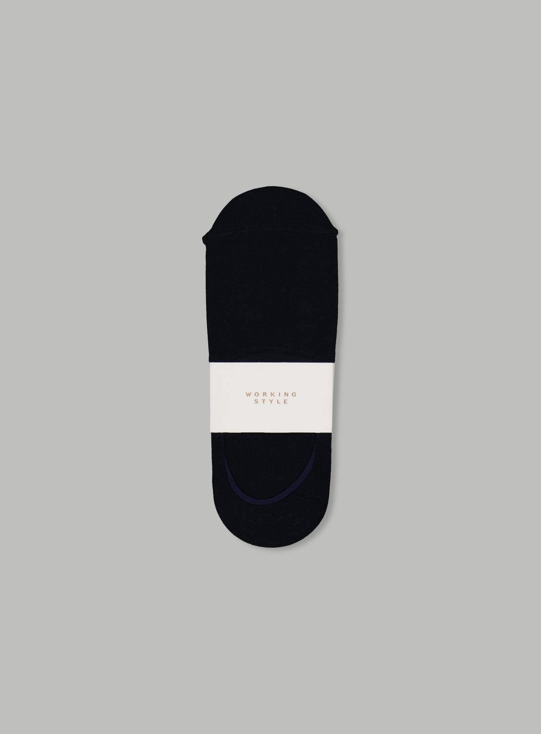 Navy Invisible Socks
