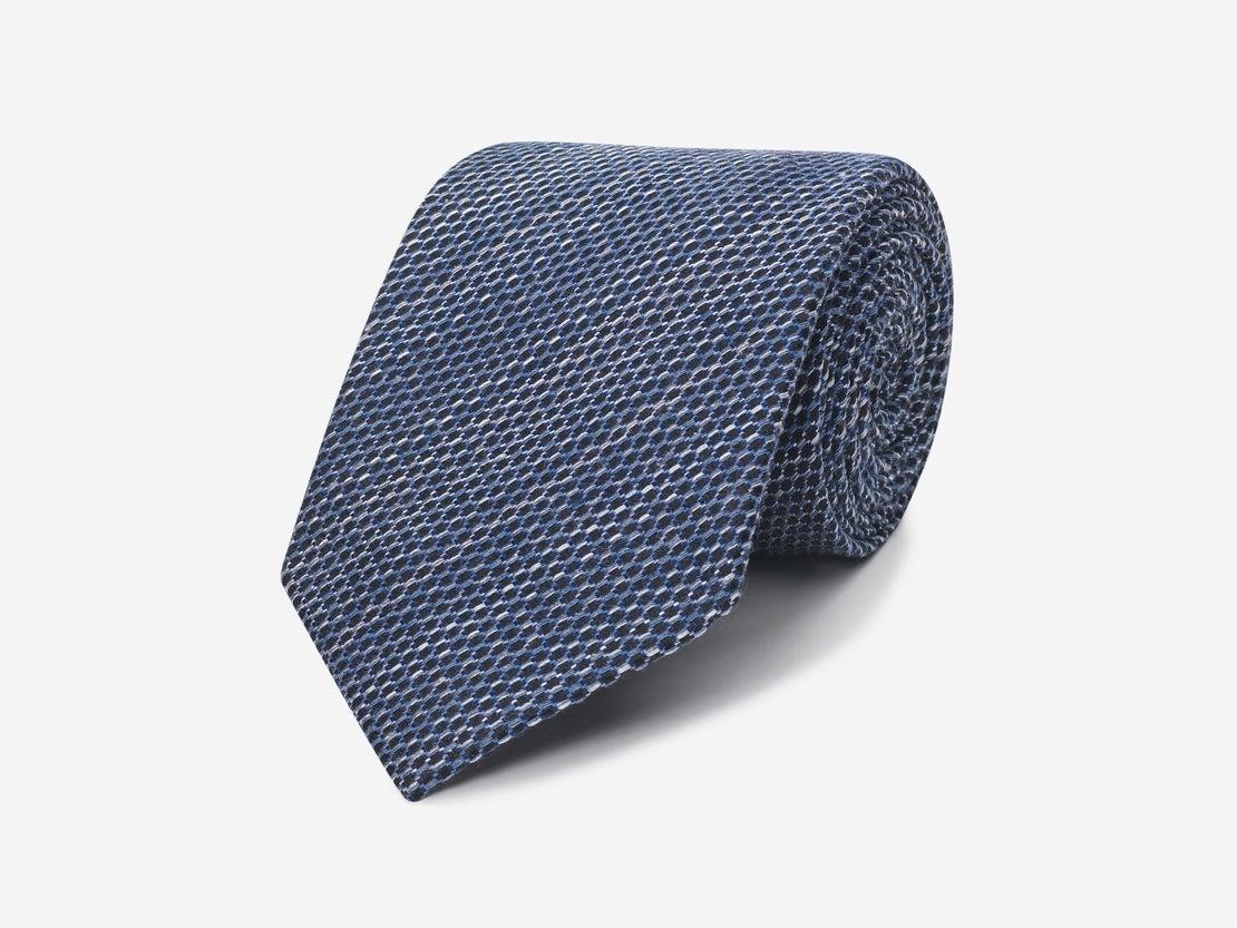 Navy Net Tie