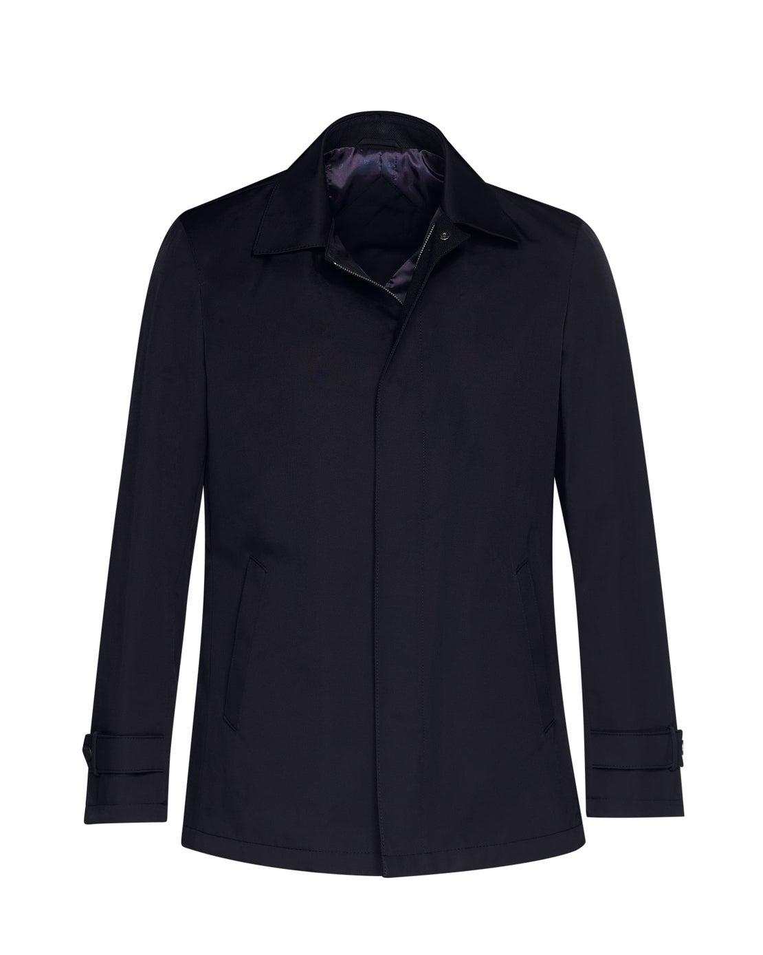Navy Raincoat