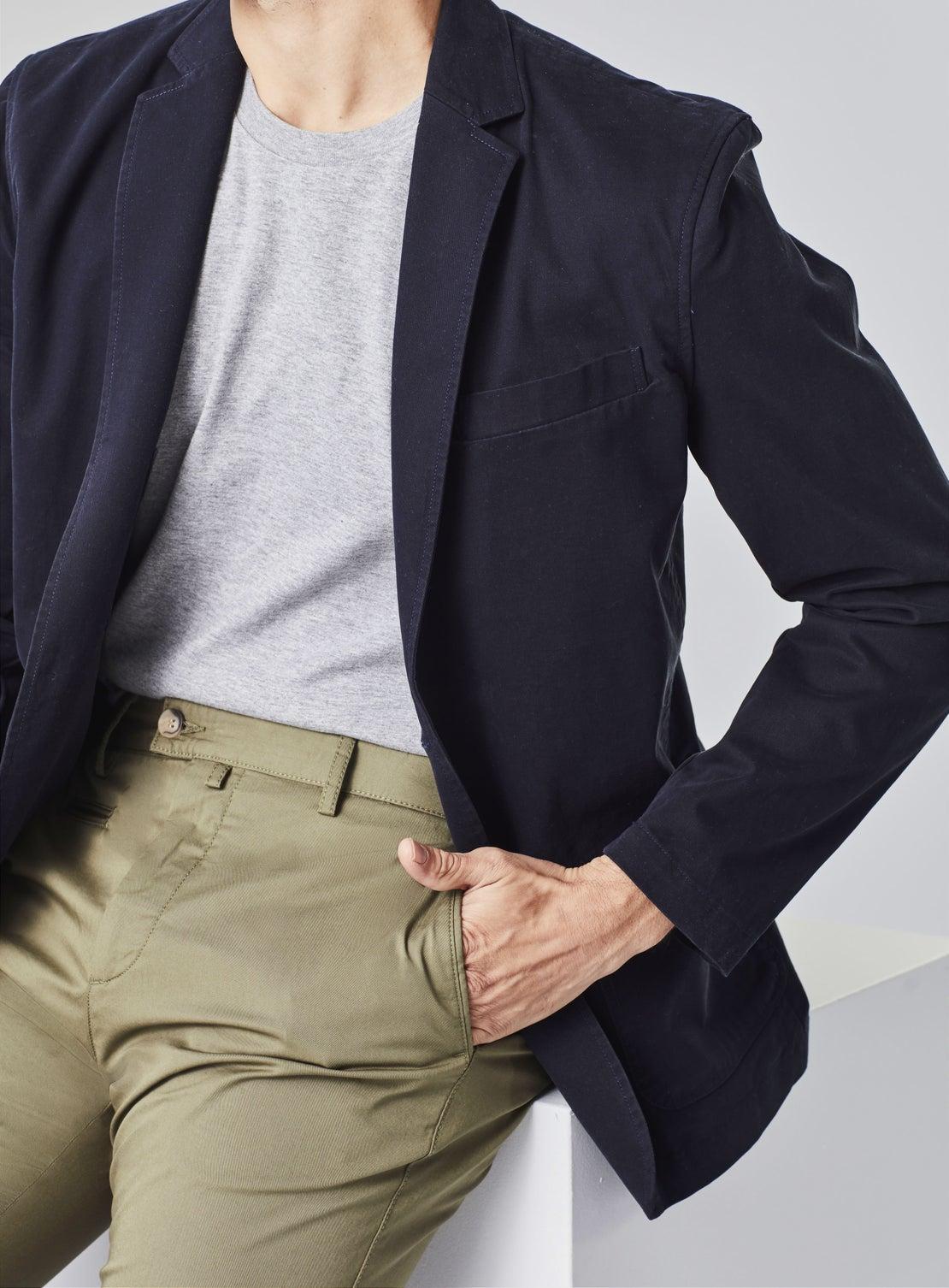 Navy Soft Blazer