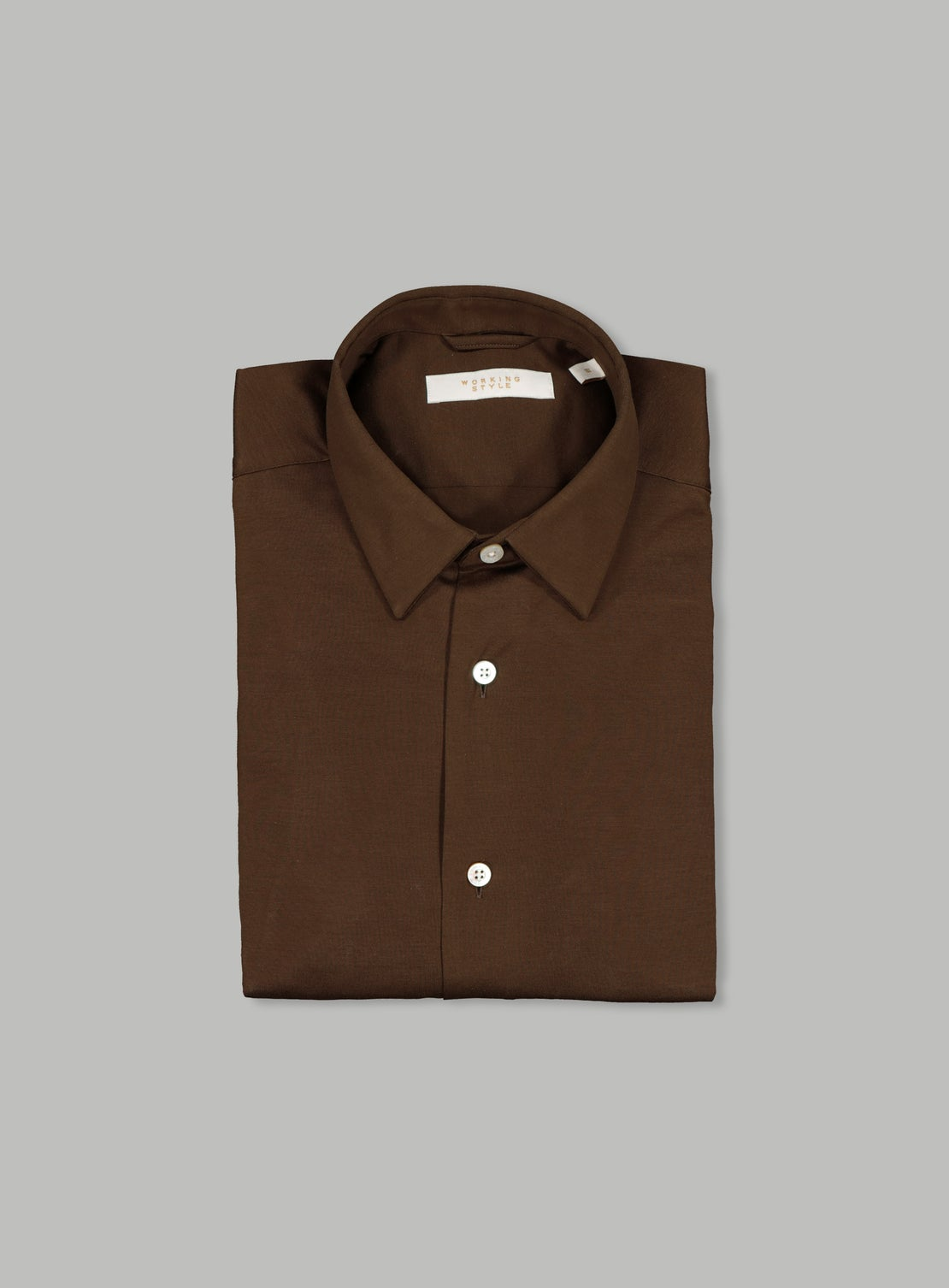 Ned Brown Knit Shirt