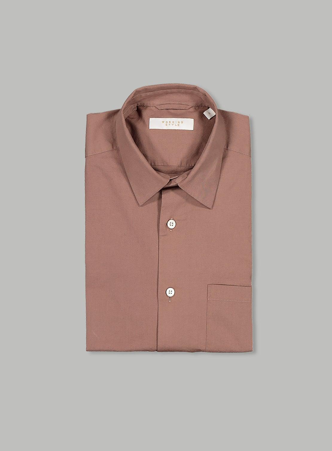 Nude Poplin Shirt