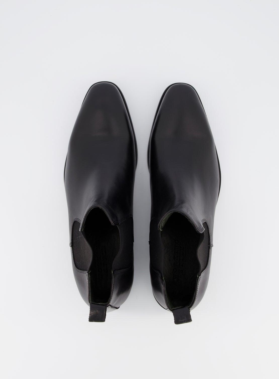 Numan Black Chelsea Boot