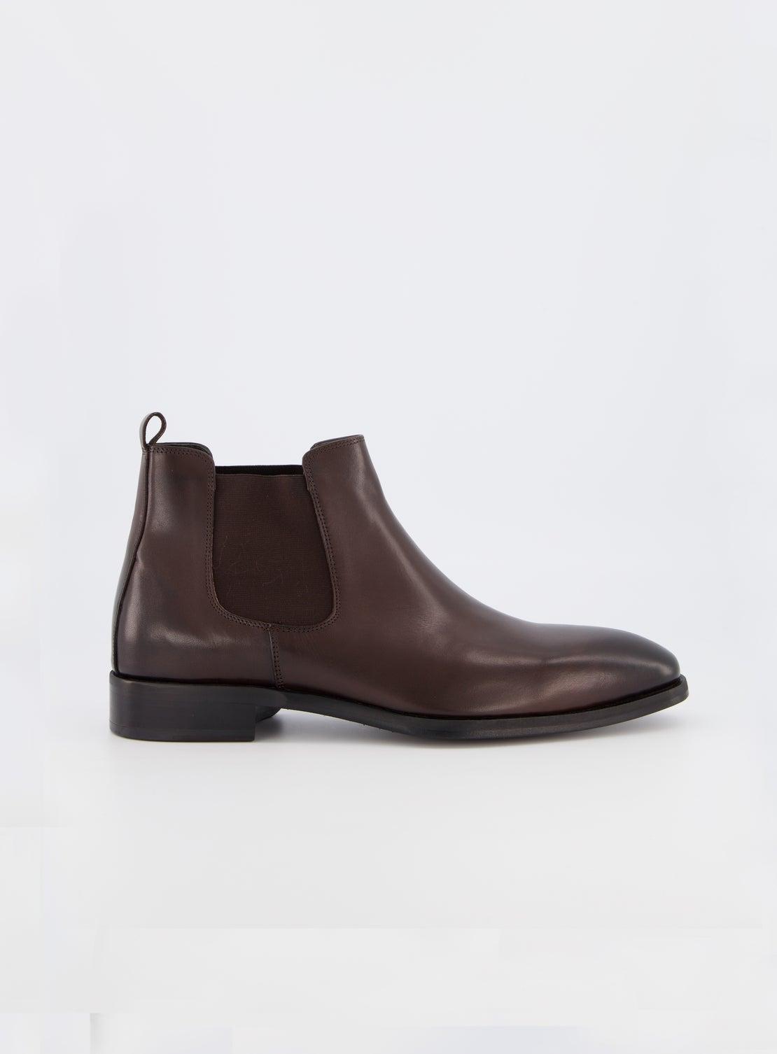 Numan Chocolate Chelsea Boot