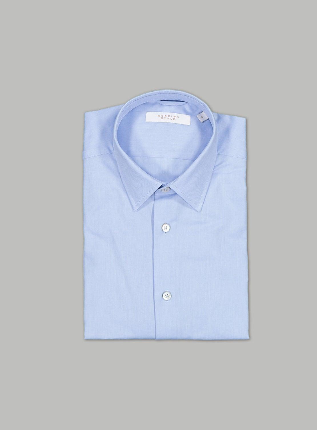 Pale Blue Oxford Shirt