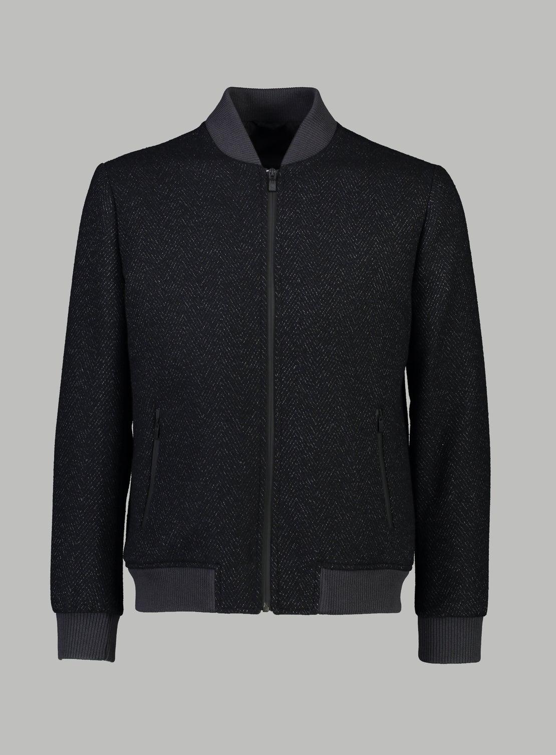 Pete Herringbone Stadium Jacket