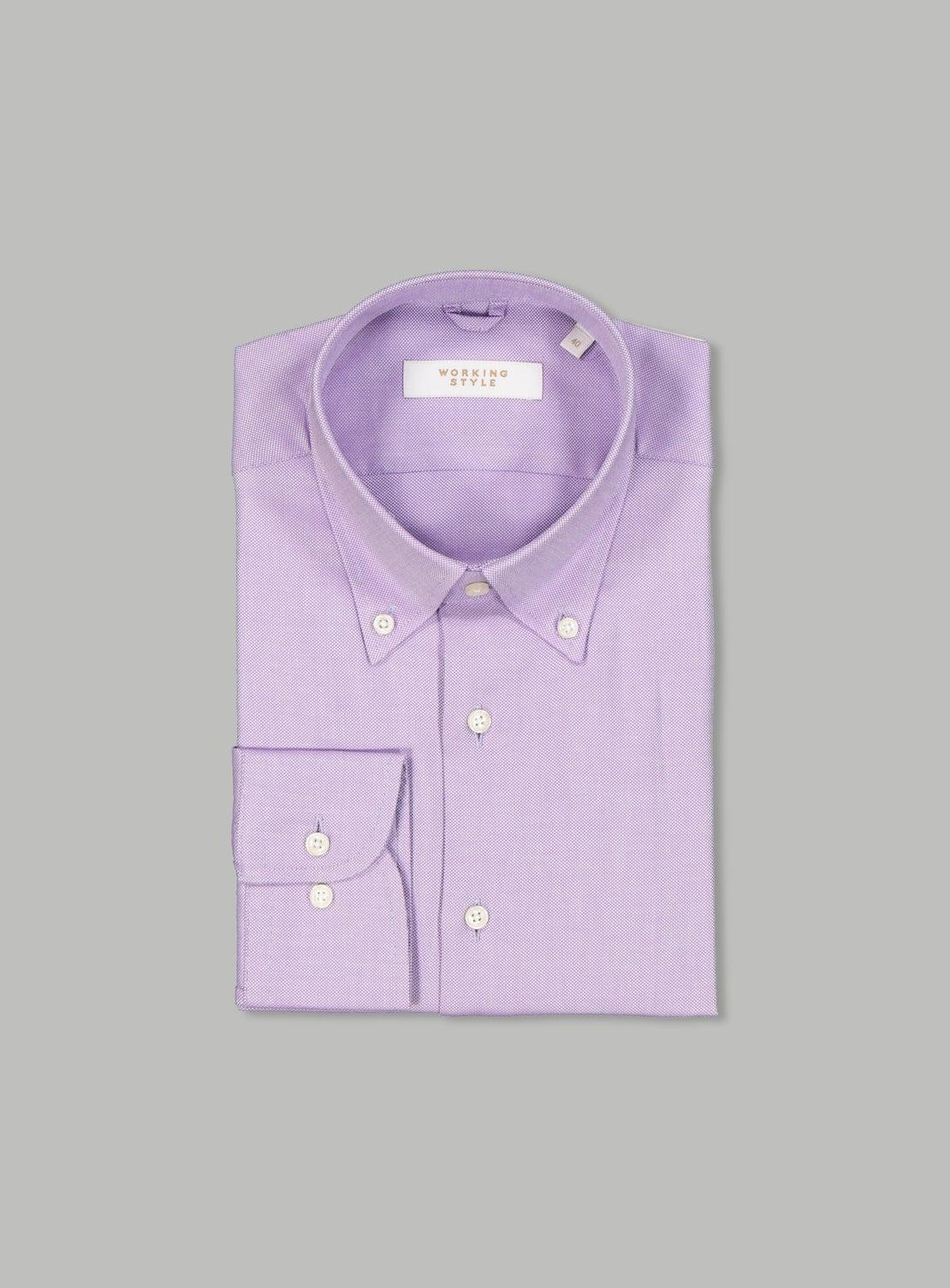 Pietro Lilac Essential Shirt