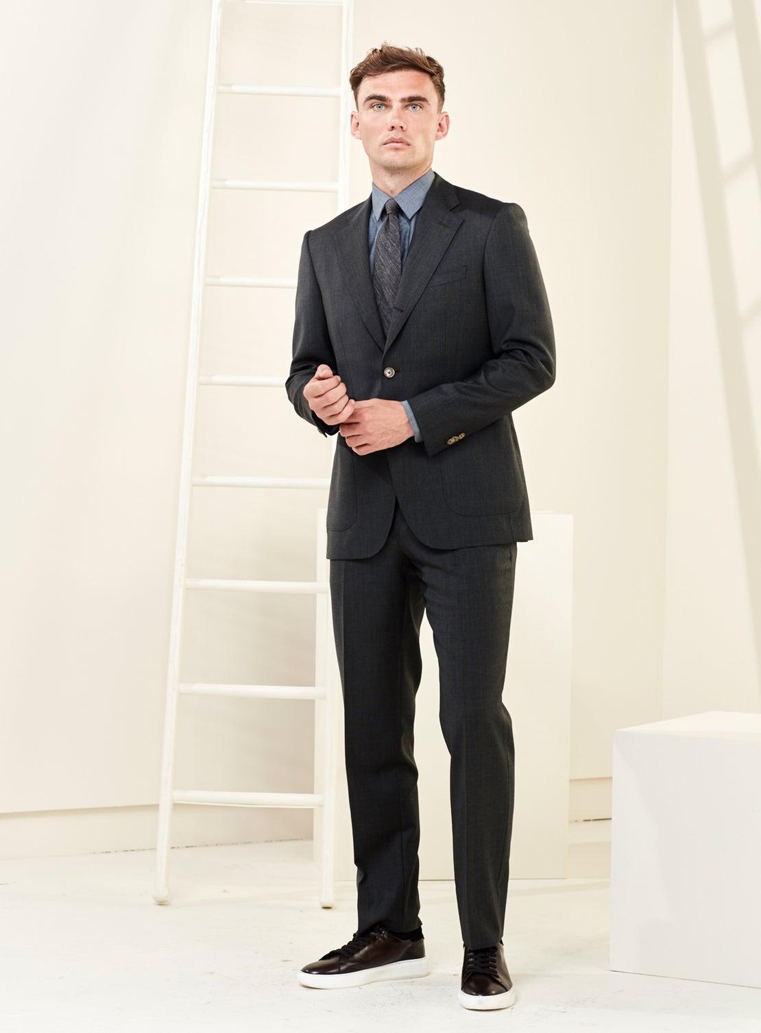 Plain Green Suit