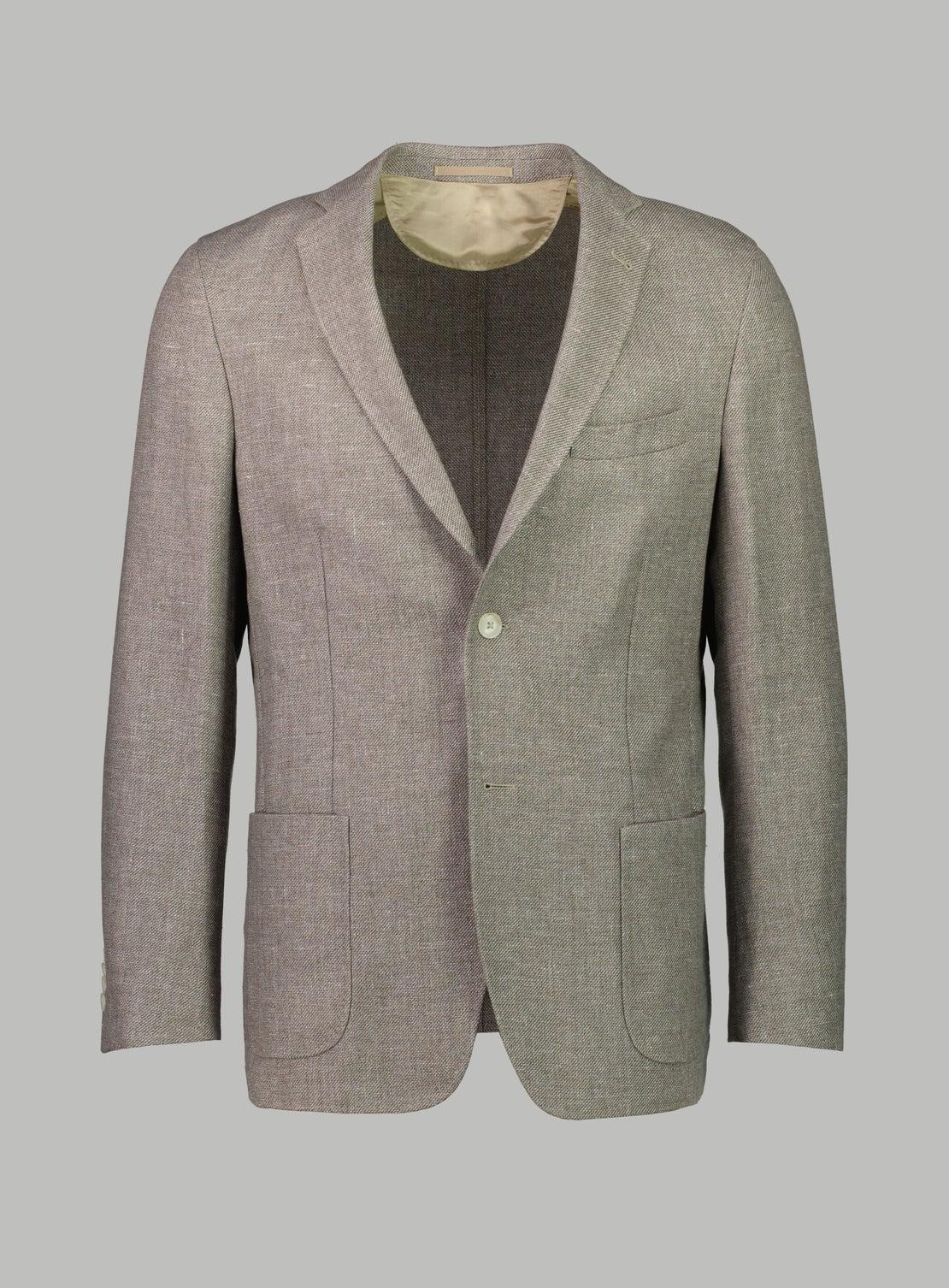 Porto Brown Twill Jacket