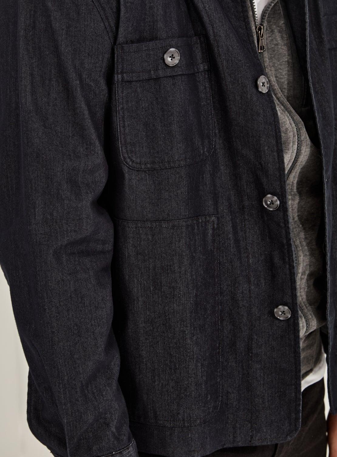 Redford Denim Utility Jacket