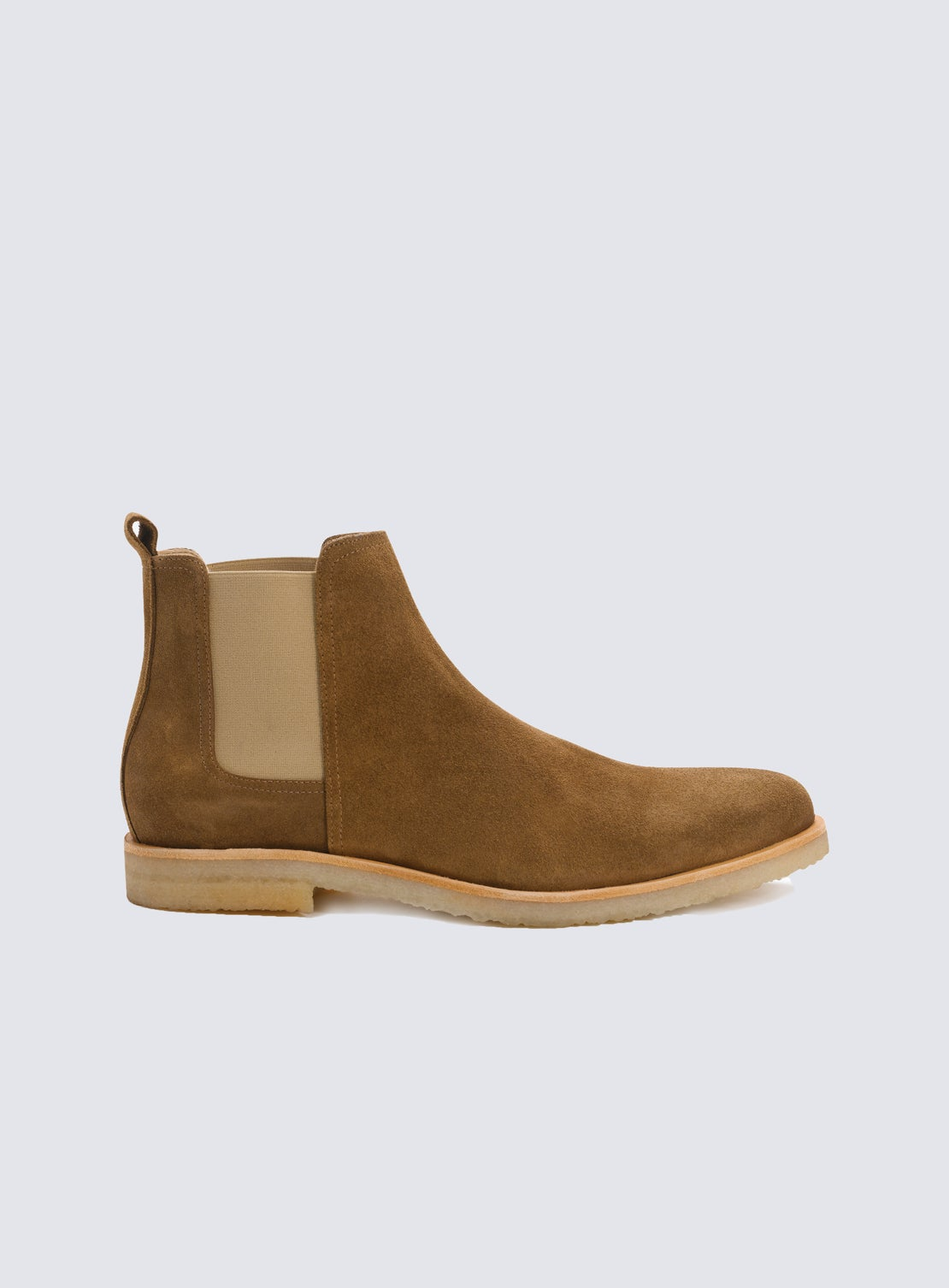 Reed Brown Suede Chelsea Boot