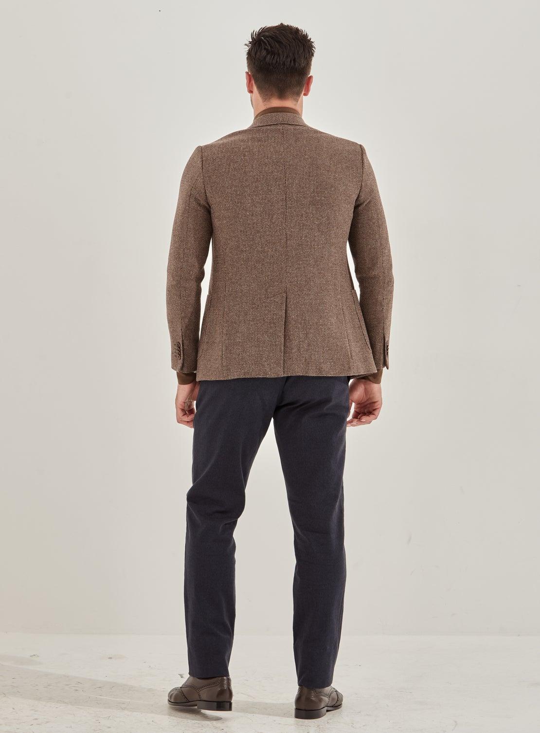 Richie Choc/Camel Basket Weave