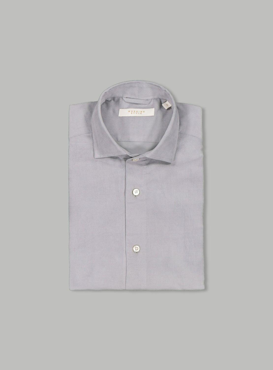 Rider Grey Cord Shirt