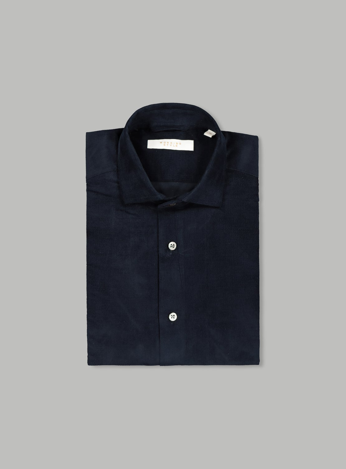 Rider Navy Cord Shirt