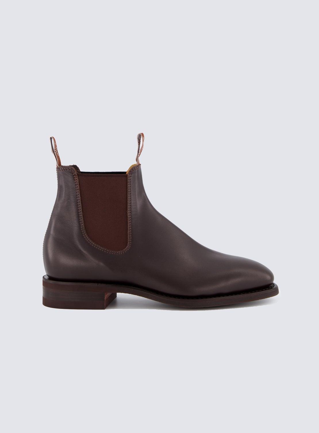 RM Williams Chestnut Comfort Craftsman Boot