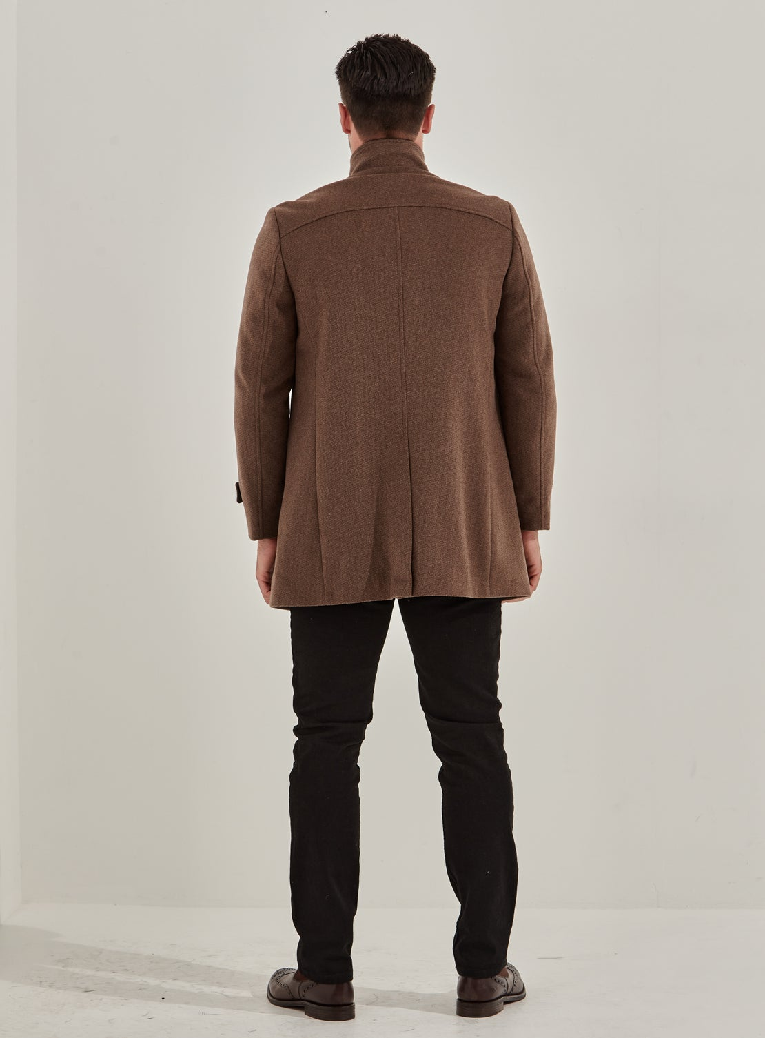 Royal Double Breasted Car Coat