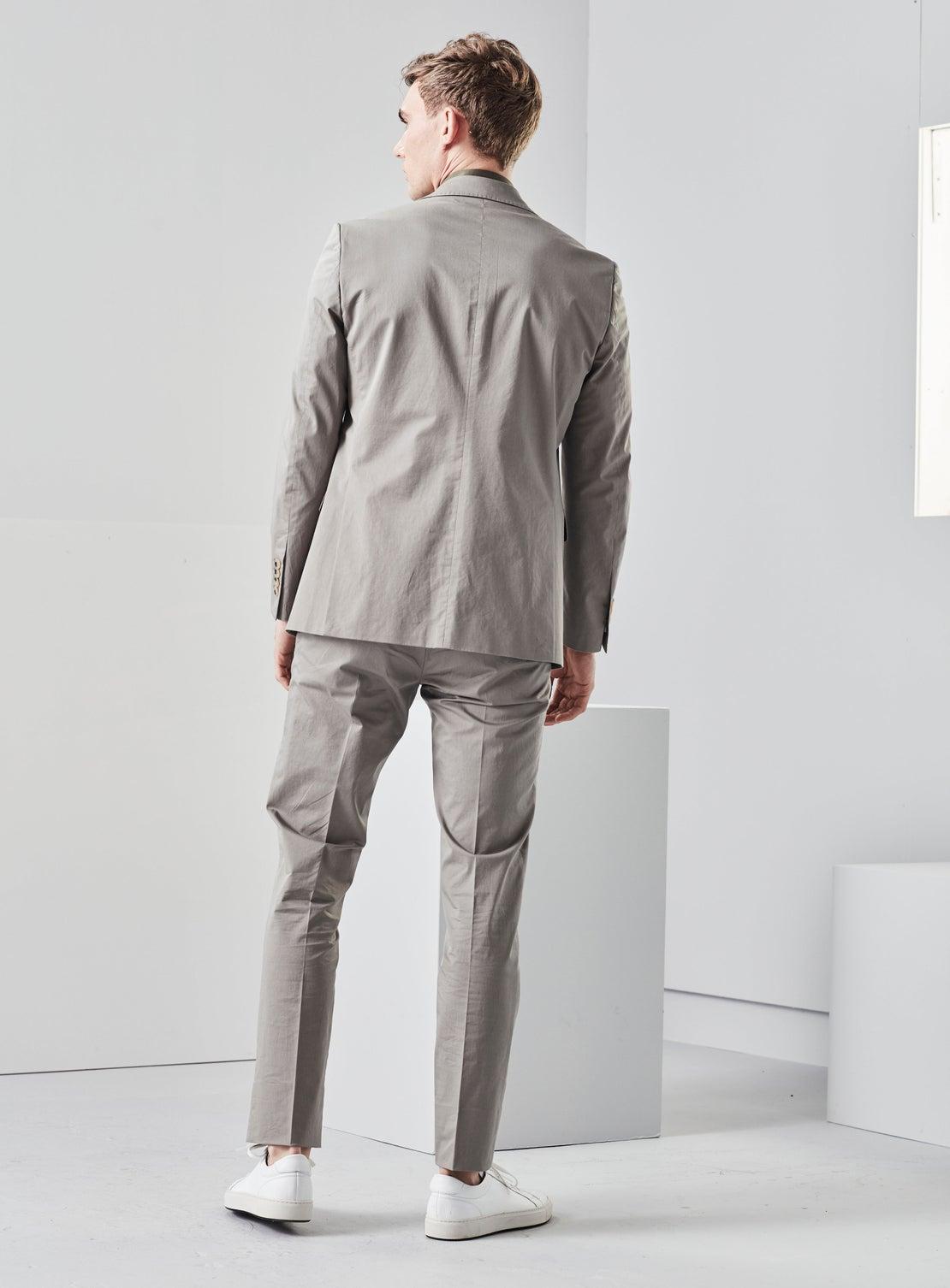 Sage Green Cotton Trouser