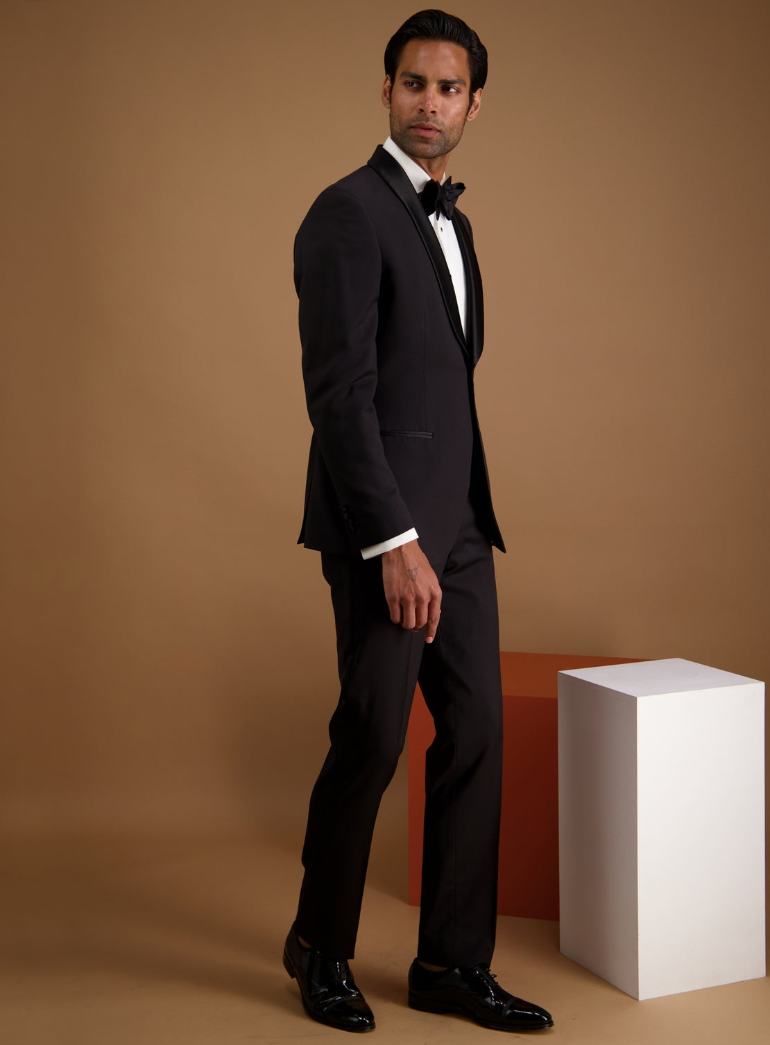 Seb Worsted Dinner Suit