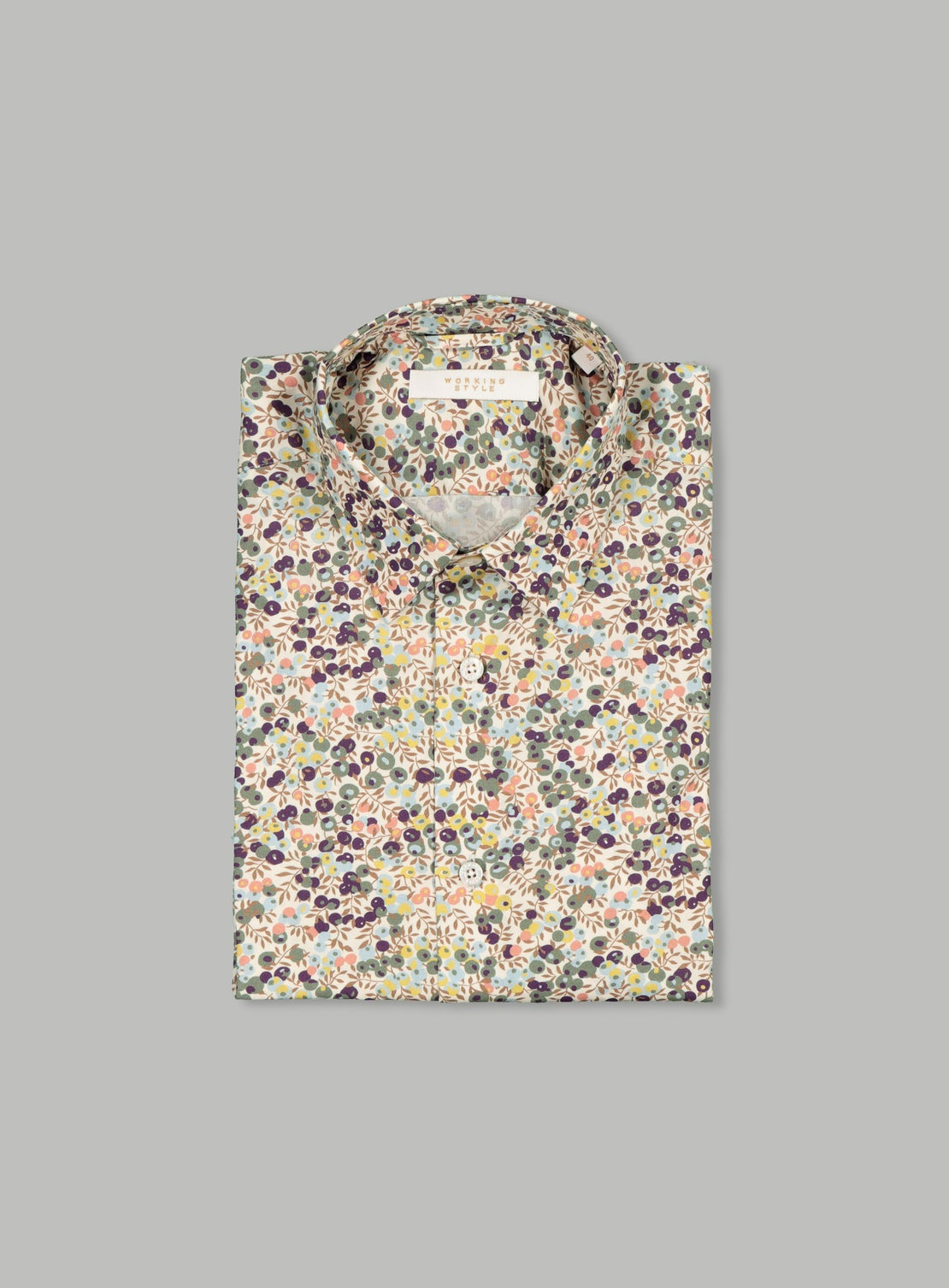 Starsky Green Floral Shirt