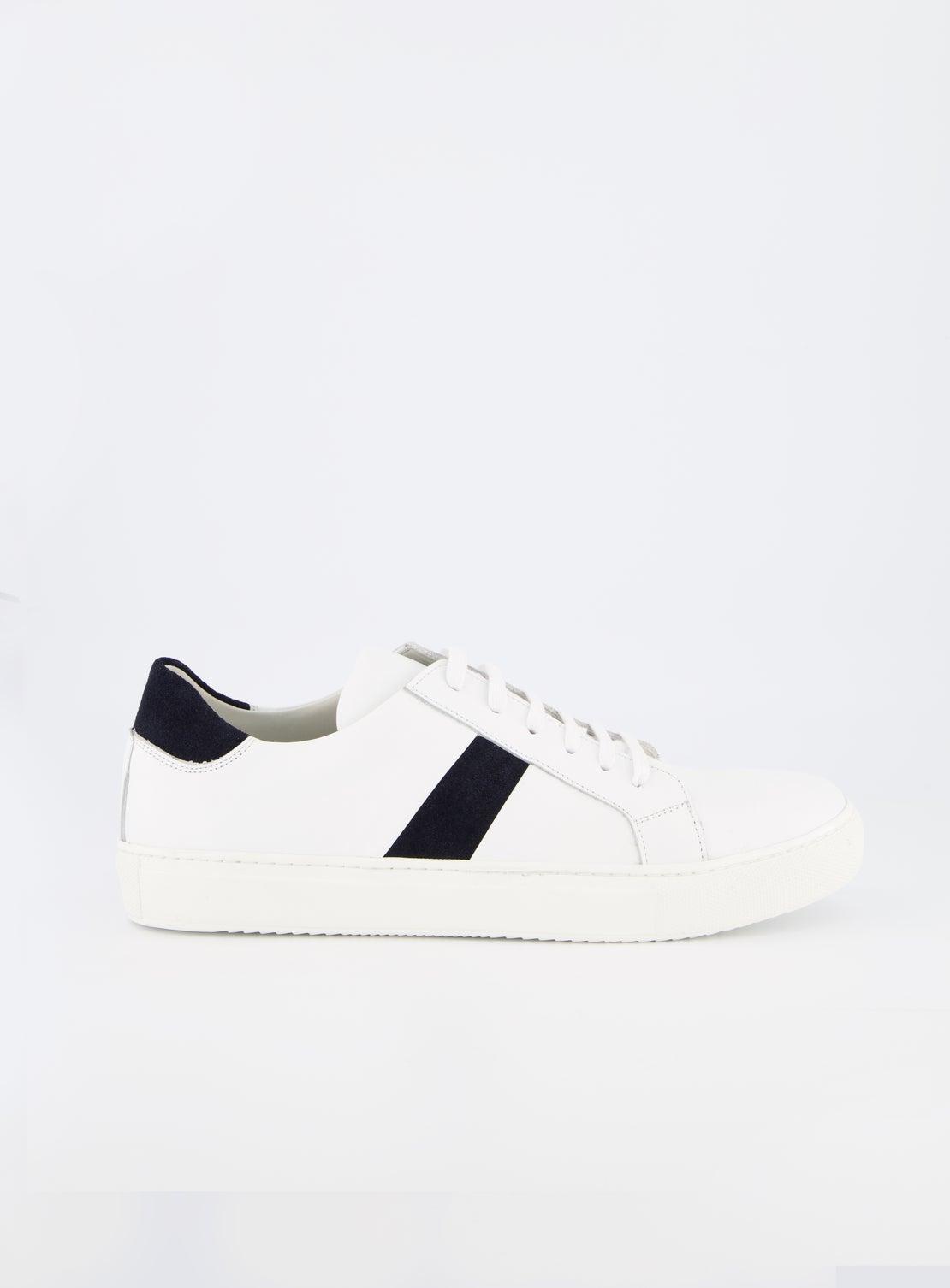 Sumner White/Navy Sneaker