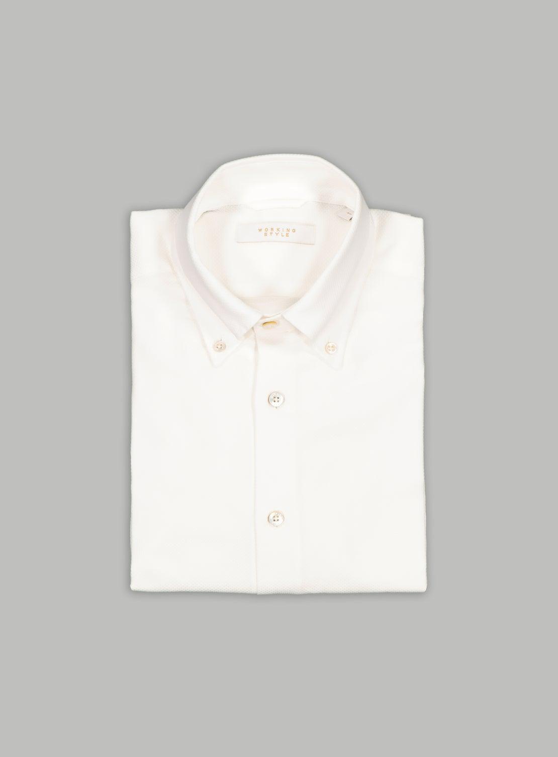 Textured Button Down Shirt