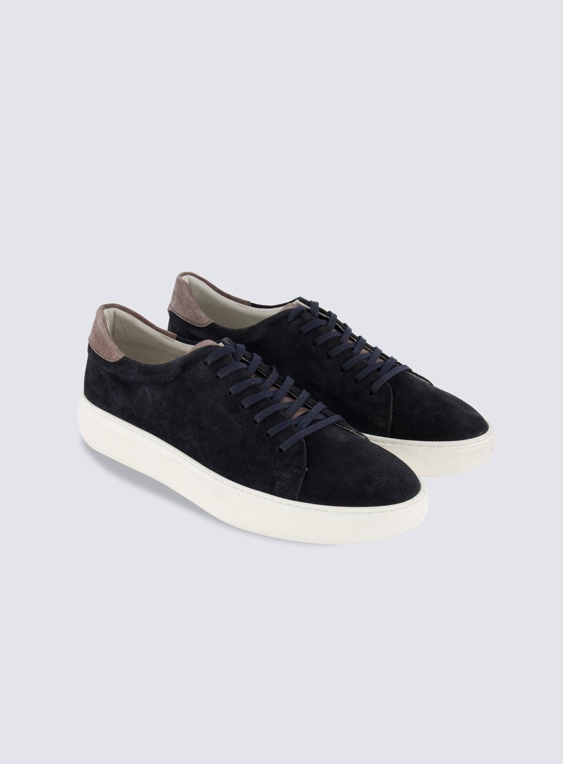 Thom Blue Suede Sneaker