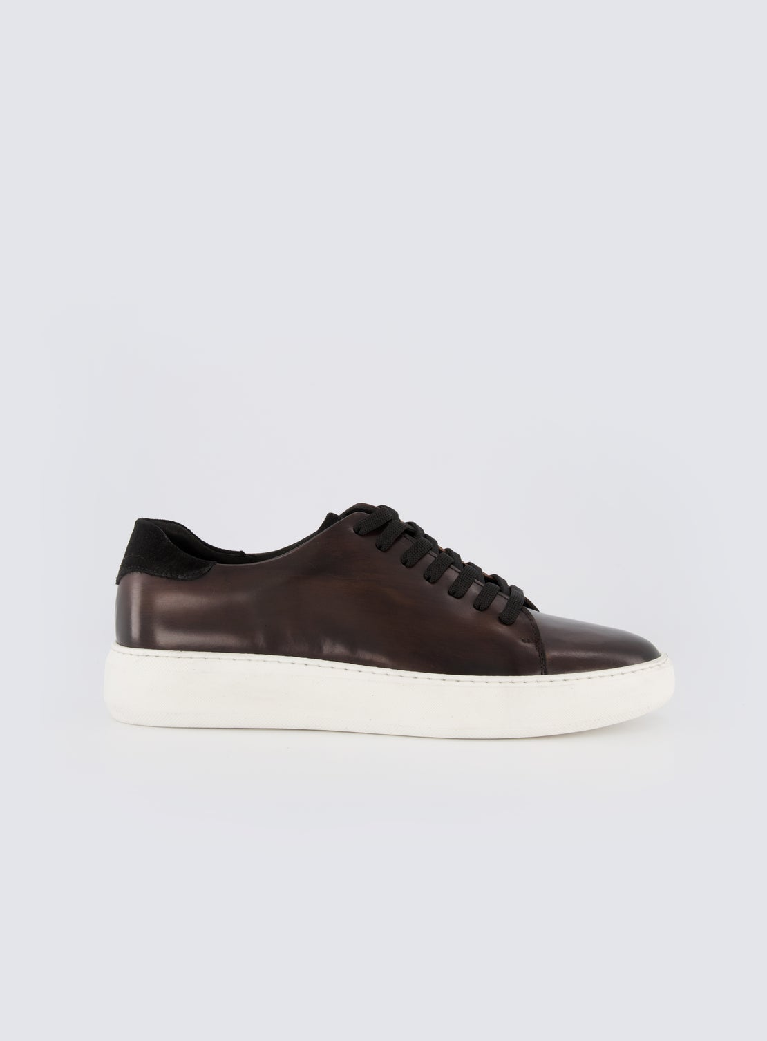 Thom Chocolate Leather Sneaker