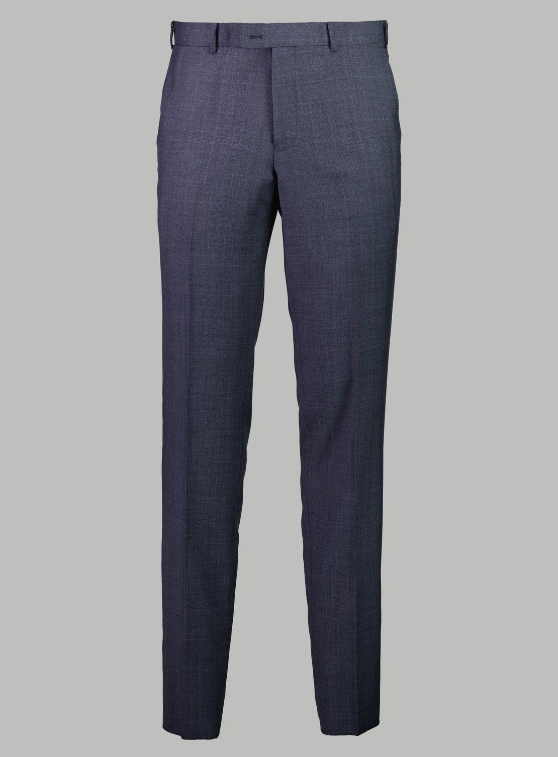 Thomas Charcoal POW Check Suit