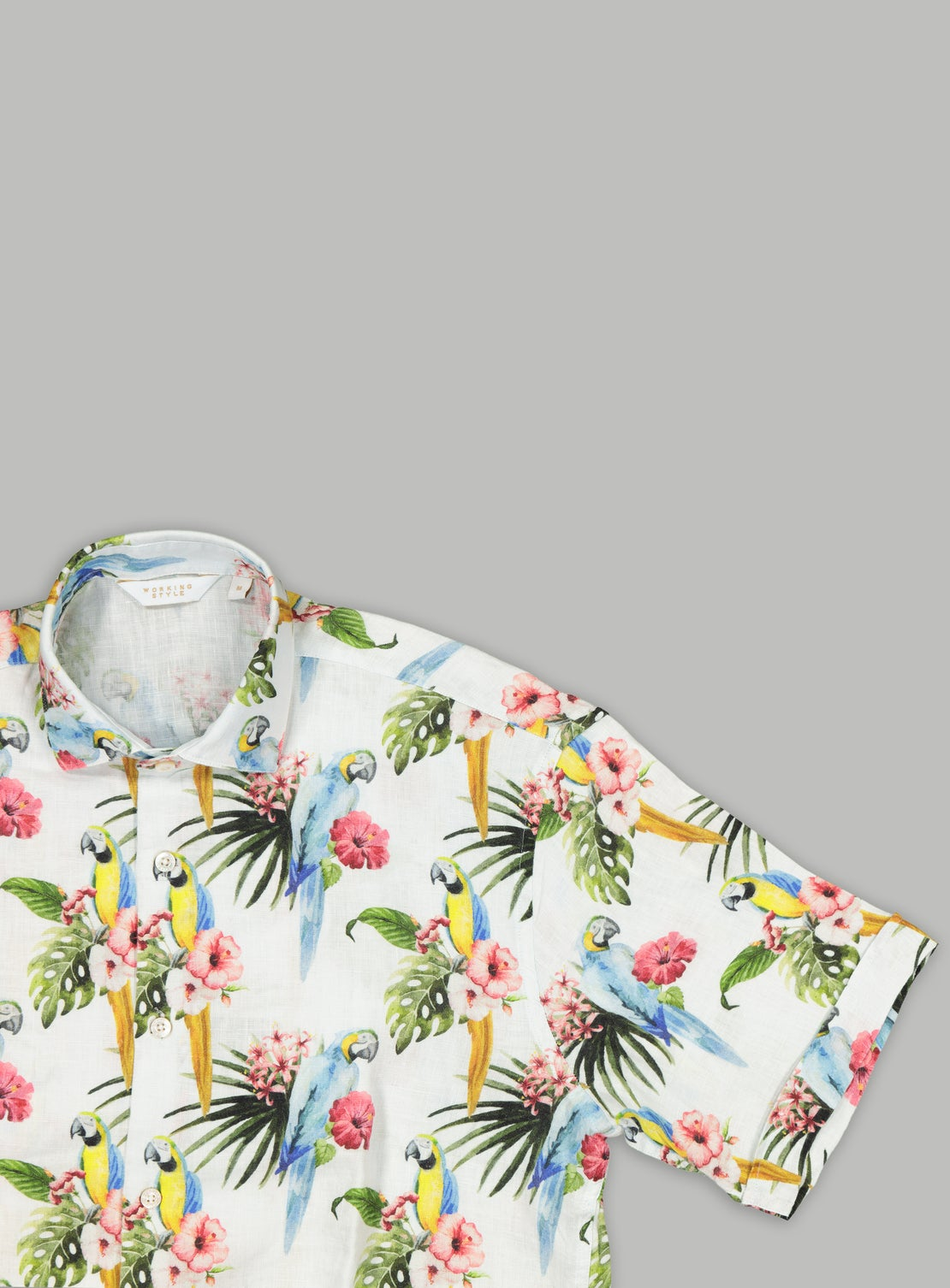 Tobago Linen Short Sleeve Shirt