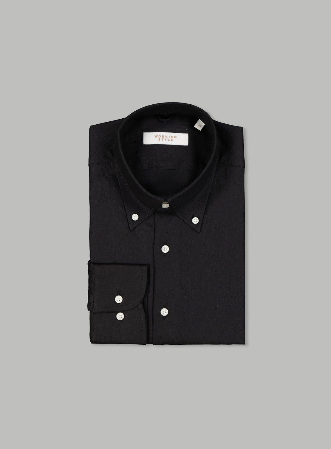 Vasily Black Essential Shirt