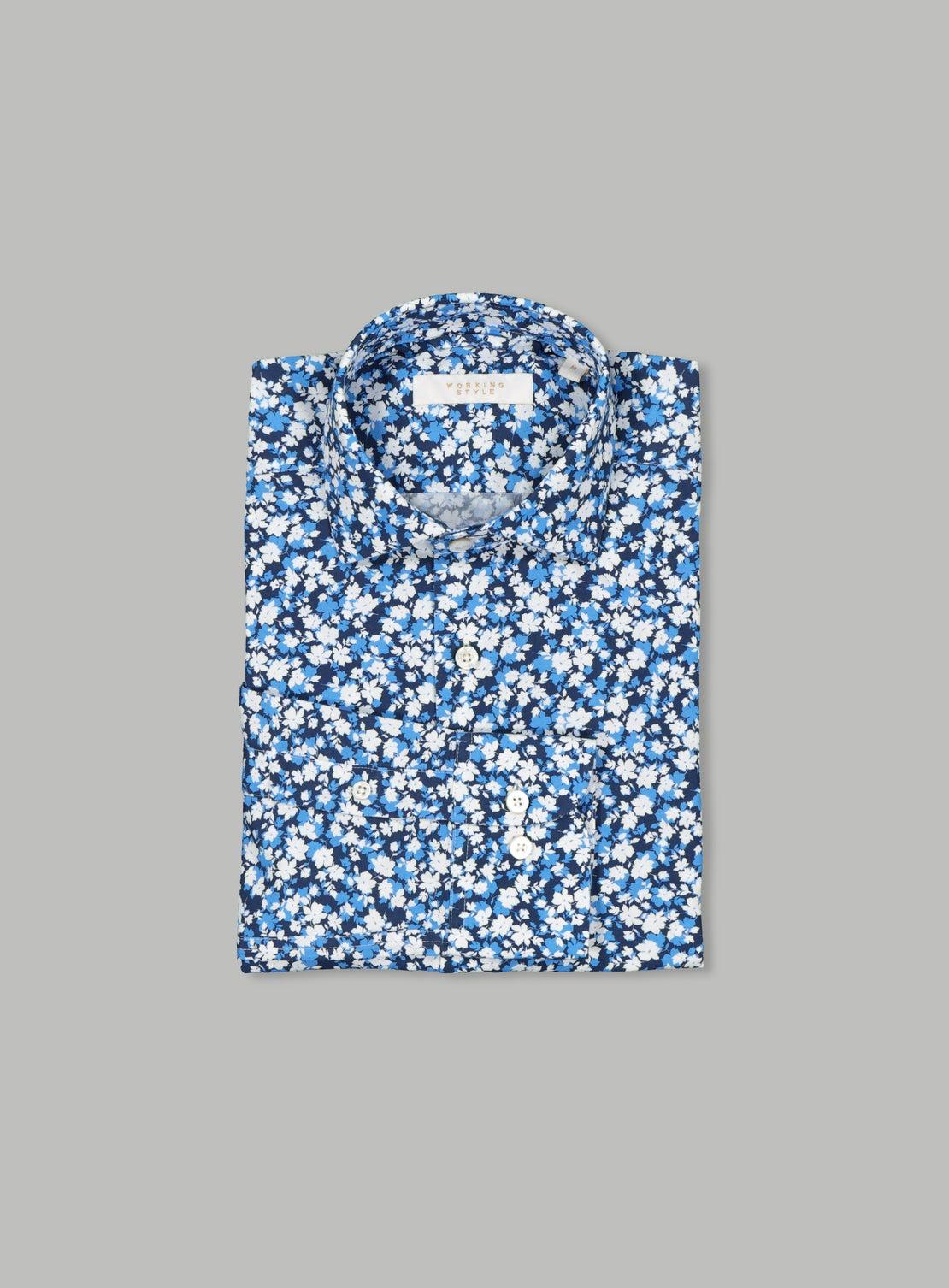 Warhol Floral Shirt